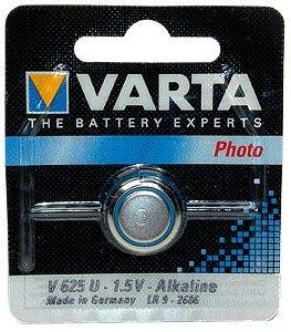 Battery, V625U Alkaline 1.5V Pkg of 10 by Varta
