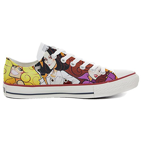 Converse All Star Chaussures Coutume (produit artisanal) Slim Charlies Angel's