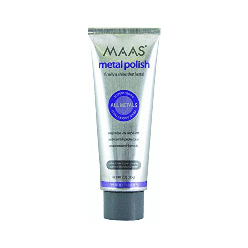 Maas 91403 Polishing Creme For All Metals - Pack of 2