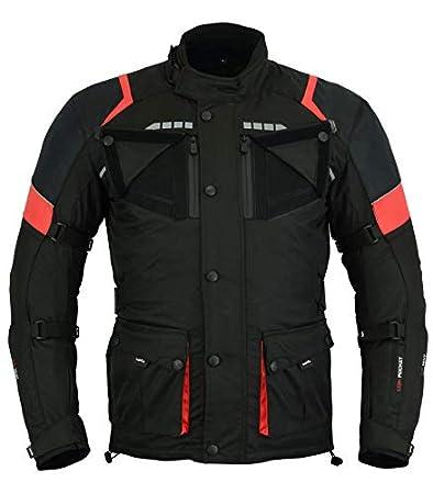 Hombre 5XL LOVO Chaqueta 3//4 para moto para