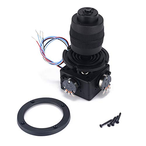 Buttons Black - 1pc 4 Axis Joystick Potentiometer Button Black R4 10k 4d With Wire 49.6x94.5mm - Metal Gold Large Potentiometer Long White Button Hole Black ButtonsCoat