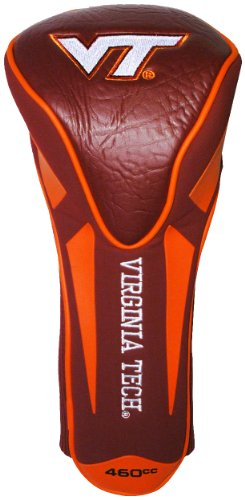 (Team Golf NCAA Virginia Tech Hokies Golf Club Single Apex Driver Headcover, Fits All Oversized Clubs, Truly Sleek)