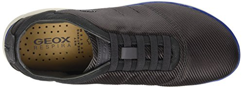 Gris F Nebula Bleu Sneakers Geox Homme U Marine Basses Anthracite TvqKwP8