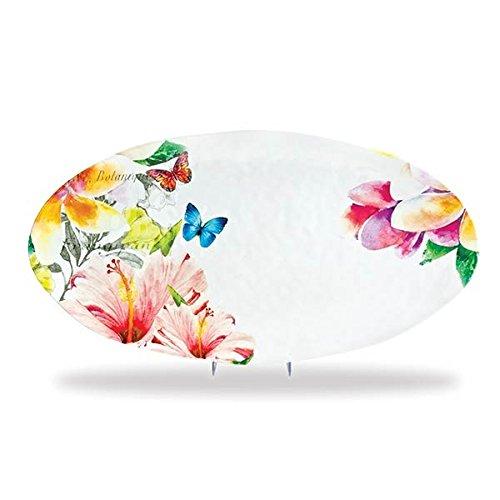- Michel Design Works Melamine Oval Serving Platter, Paradise