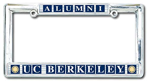 license plate frame cal alumni - 3