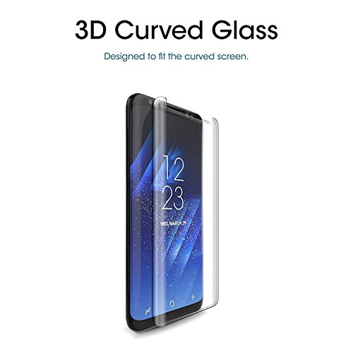 [2-Pack] Galaxy S8 Plus Screen Protector, Live2Pedal Tempered Glass Screen Protector [9H Hardness][Anti-Scratch][Anti-Bubble][3D Curved] [High Definition] [Ultra Clear] for Samsung Galaxy S8 Plus by Live2Pedal (Image #5)