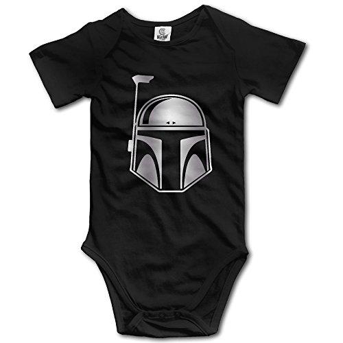 Girls' Boys' Infant Star Wars Boba Fett BB Romper Jumpsuit Bodysuit (Boba Fett Suit For Sale)