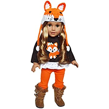Brittany's My Fall Woodland Fox Outfit for 18 Inch Dolls- 18 Inch Doll Clothes