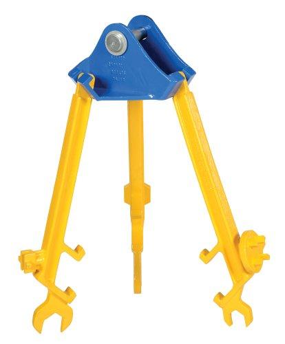 Vestil PDL-800-M Multi-Purpose Overhead Drum Lifter/Wrench, Steel, 800 lbs Capacity