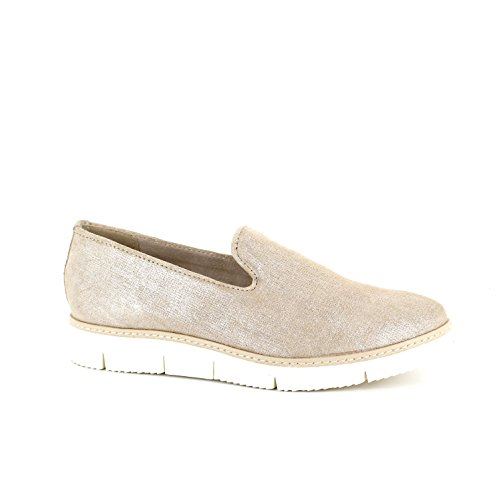 Marco Tozzi Slipper DUNE METALLIC