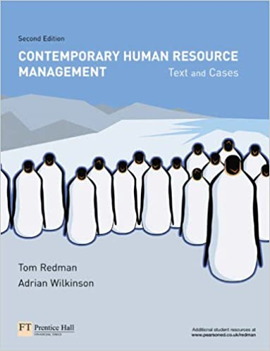 Contemporary human resource management text and cases amazon contemporary human resource management text and cases amazon prof tom redman prof adrian wilkinson 9780273686637 books fandeluxe Gallery