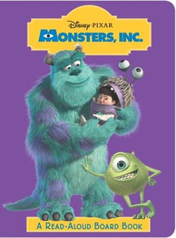 Read Aloud Board Book - Monsters, Inc. (Read-Aloud Board Book)