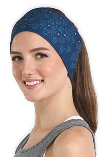Wide Headband for Women and Men - Sweatband & Sports Headband for Running, Working Out and Dominating Your Competition - Performance Stretch & Moisture - Wicking Headband Moisture Running