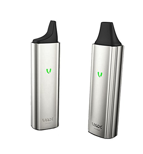 Vax Mini ® - Vaporizer für trockene Kräuter, portabler Verdampfer (Silber) mit USB