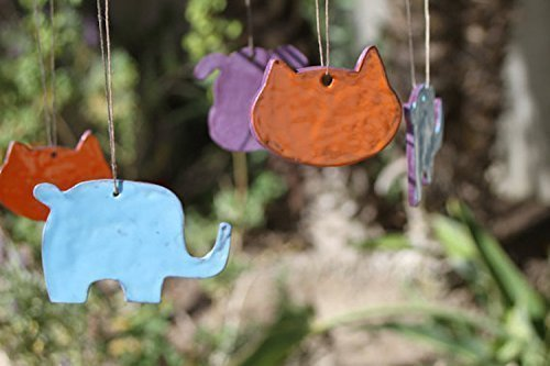 Animal Mobile handmade children's room decor by Manuela Marino Ceramic (Image #1)