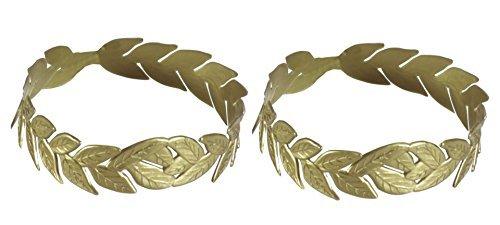 Laurel Wreath Gold Headpiece - Pack of