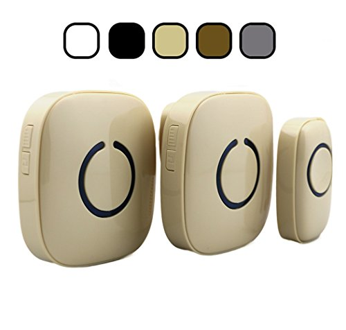 Cheap  SadoTech Model CXR Wireless Doorbell with 1 Remote Button and 2 Plugin..