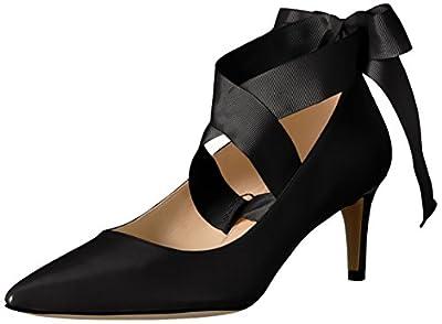 Nine West Women's Sylmar Leather Dress Pump