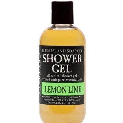 Plum Island Shower Gel Lemon Lime - Natural Shower Gel Soap