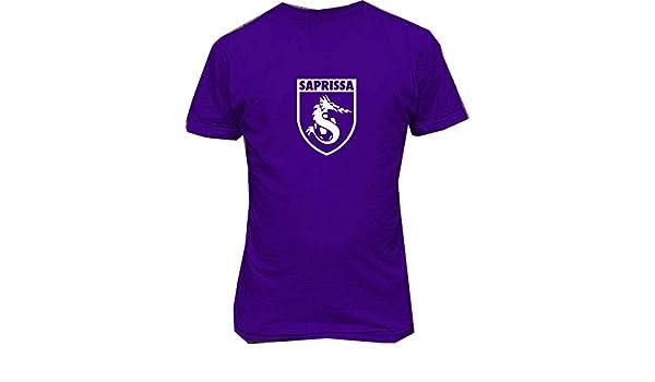Amazon.com: Soft-T Males Deportivo Saprissa Costa Rica Futbol Camiseta Custom T Shirts: Clothing