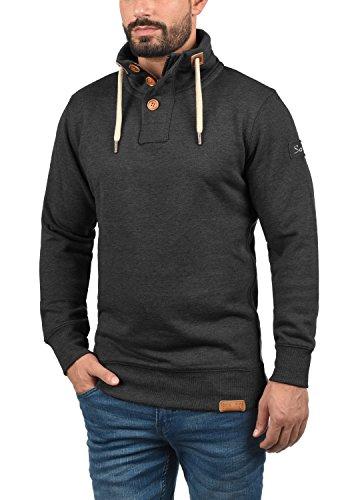 Triptroyer shirt Sweat Dark Solid Melange 8288 nbsp; Homme Grey 1UaqdnwfE