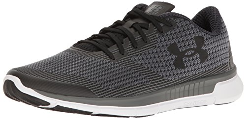 Under Armour Mens Geladen Bliksem Zwart (001) / Wit