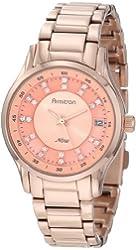 Armitron Women's 75/5035RMRG Swarovski Crystal Dial Rosegold-Tone Watch