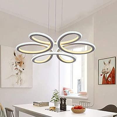 Lámpara LED colgante para mesa de comedor de 48 W, lámpara ...