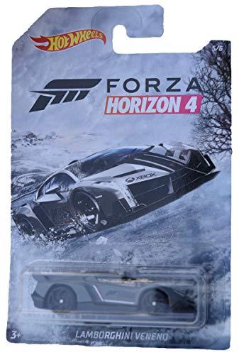 [해외]Hot Wheels Forza Horizon 4 Lamborghini Veneno 56 Gray / Hot Wheels Forza Horizon 4 Lamborghini Veneno 56, Gray