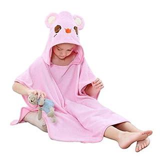 "YASSUN Cotton Children's Bath Towel Baby Hooded Bathrobe Cloak, 24"" x 47"""