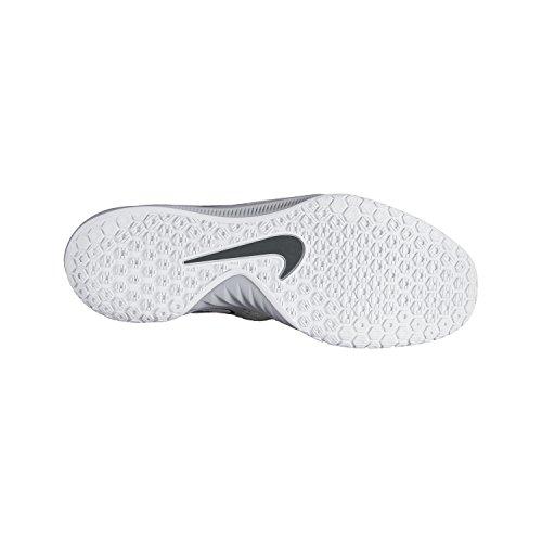 T-shirt Nike Jungen Gris / Blanco (giochi Wlf / Giochi White-pr Pltnm-drk)