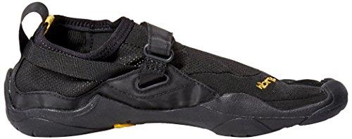 Vibram Five Fingers KSO - Zapatillas de fitness de nailon para mujer Negro (Schwarz (Black))