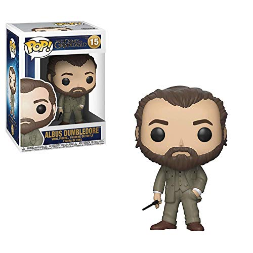 Funko Albus Dumbledore Figurina de Vinillo, Coleccion Animales Fantasticos 2 POP Movies, 9 cm, (32750)