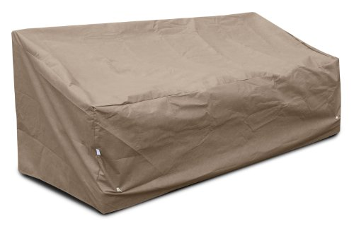 KoverRoos III 39355 Deep Large Sofa Cover, 87-Inch Width by 40-Inch Diameter by 31-Inch Height, Taupe (U Shaped Couch Sets)