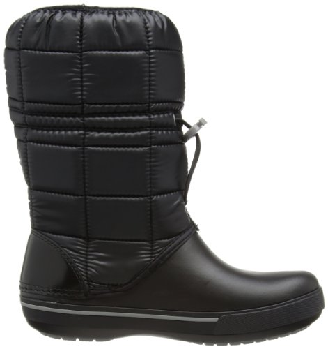 II Boot Women Black Botas 5 de Smoke color Blanco Negro Winter CrocbandTM nieve Crocs qI45wX
