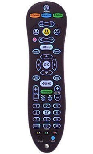 Pdf Replacement Manual - AT&T Uverse Remote Control