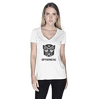 Creo Optimus T-Shirt For Women - M, White