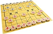 Quantum Abacus Premium Xiangqi: Professional, Heavy Pieces for Chinese Chess / Xiangqi, Made of Melamine Resin, Size XL: Dia