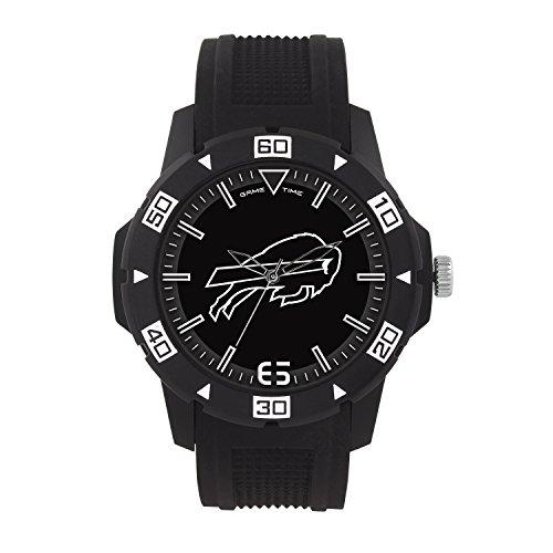 NFL Buffalo Bills Mens Automatic Series Wrist Watch, Black, One Size