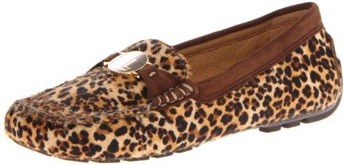 Lauren Ralph Lauren Women's Carley II Penny Loafer,Cheetah,5.5 B US