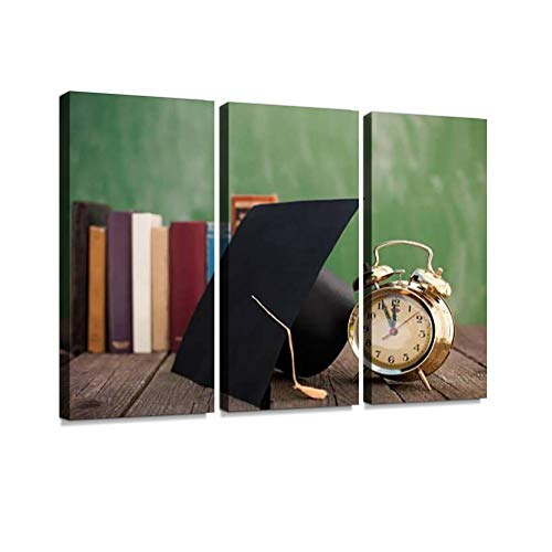 Exam time Print On Canvas Wall Artwork Modern Photography Home Decor Unique Pattern Stretched and Framed 3 Piece