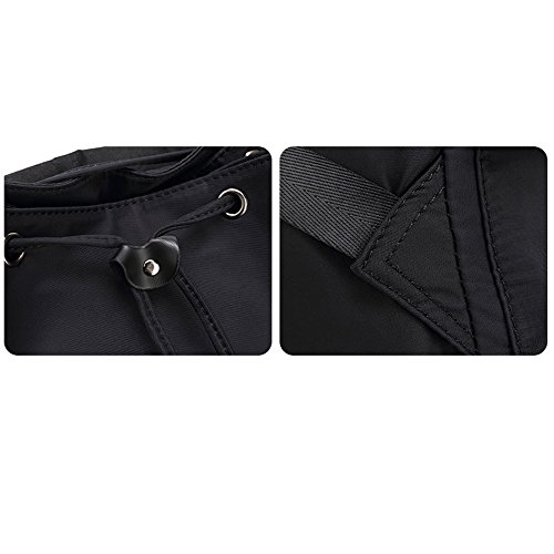 Anne - Bolso mochila  para mujer negro negro