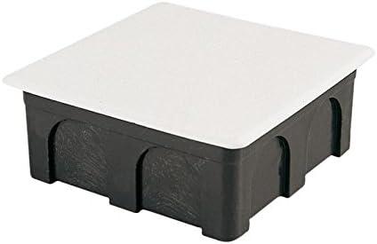 Famatel 3201 - Caja empalme cuadrado 100x100 fijación garras: Amazon.es: Bricolaje y herramientas