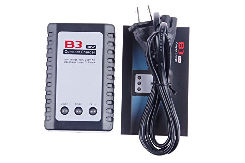 - KNACRO 10W Lithium battery Balance Charger B3 PRO 2S-3S Suitable for remote control aircraft