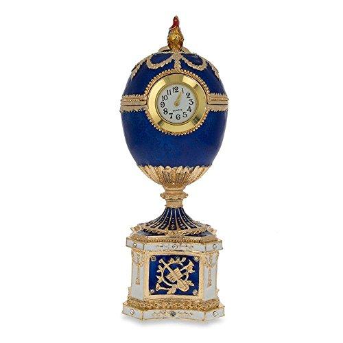 BestPysanky 1904 Kelch Chanticleer Blue Enamel Royal for sale  Delivered anywhere in USA