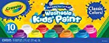 Crayola Washable Kids' Paint, Assorted Colors 10 ea