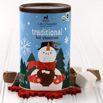 Lake Champlain Gourmet Organic Winter Hot Chocolate, 16 Servings, 1 Pound -