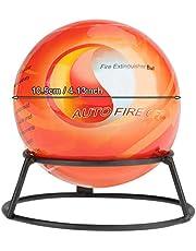 Mini extintor de bolas, extintor inteligente, multiusos extintor autoactivación para zonas de alto riesgo y lugares secos, 0,5 kg (0,5 kg)
