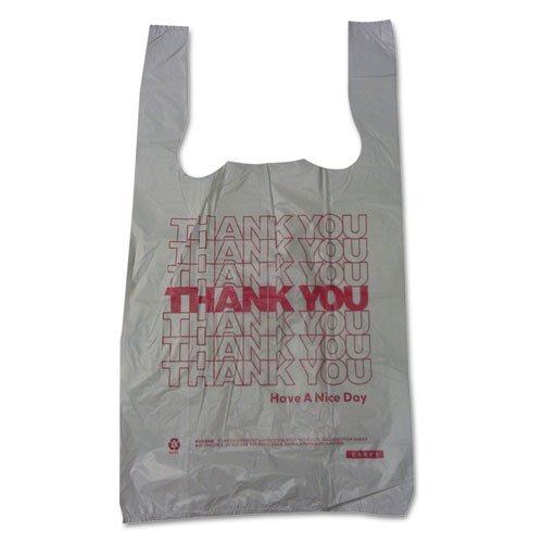 Bpc 6415THYOU Plastic Thank-You T-Sack   B001U8PGCI