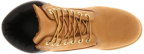 Timberland Shoes - 6 inch Premium Boot 10061 - Wheat Yellow (Wheat Nubuck) fV3WlXy